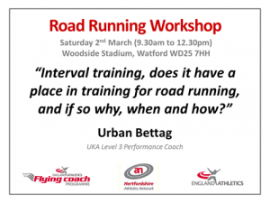 Road Running Workshop