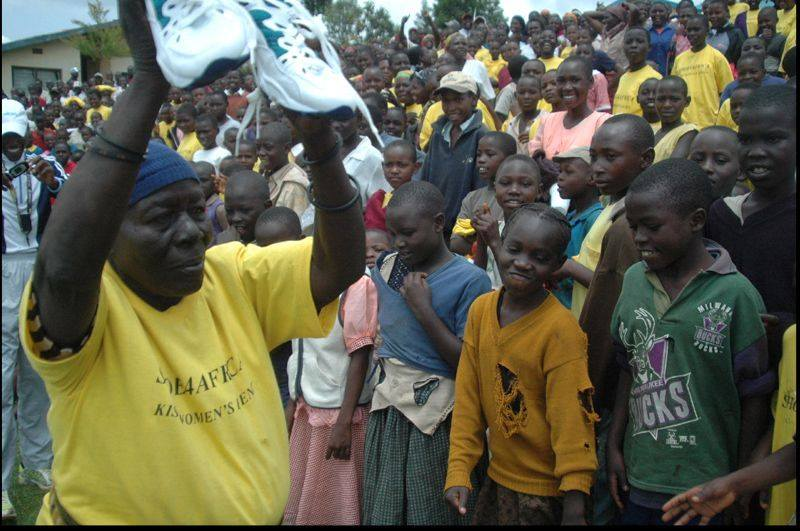 Used Running Shoes for Shoe4Africa
