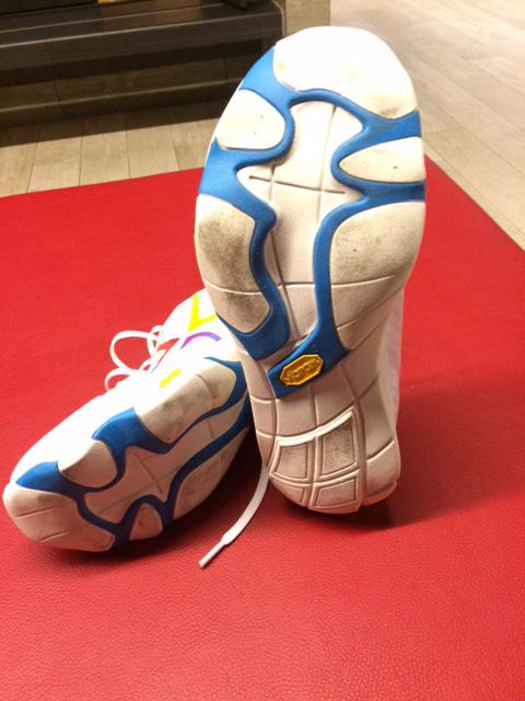 Running shoes rubbing big toe